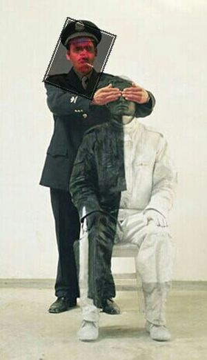 Making Myself Invisible For The Chinese Invisible Artist Liu Bolin Last Selfie