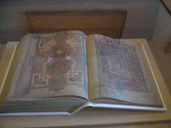 Book Of Kells Facsimile St Colmcilles Kells Ireland Church