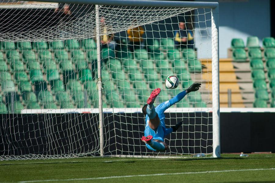 Goalkeeper Day Football Football Game Football Stadium Full Length Side View Sport The Color Of Sport By September 14 2016