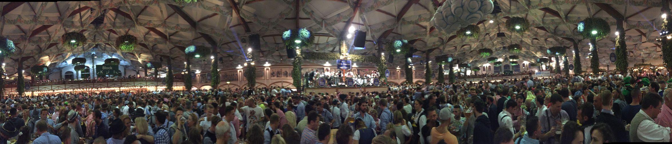 360 deg - Hofbräuzelt Oktoberfest2015