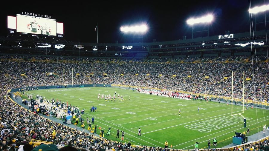 Lambeau Field. Green Bay, Wisconsin. Check This Out Wisconsin NFL Football Taking Photos