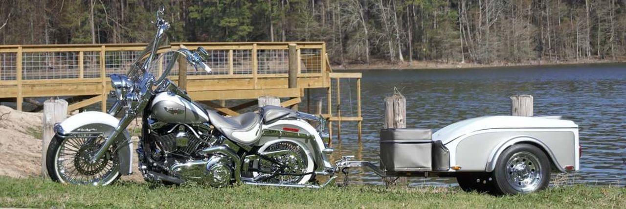 The Week On EyeEm Motorcycle White Color Water Bridge Railing