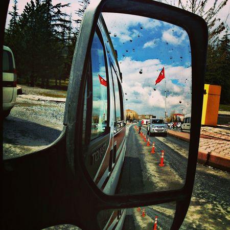 Hello World Ambulance Working Ambulans Turkey Turkishflag Türkbayrağı Kayseri Ey mavi göklerin beyaz ve kızıl süsü...