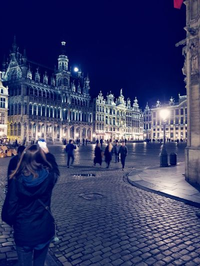 Brussels Belgium Belgium Architecture Belgium 🇧🇪 Belgium City Brussels Architecture Brussels By Night Brussels Skylines Carousel City Ice Rink Christmas Decoration Illuminated Christmas Market Winter Cold Temperature Christmas Lights Christmas Town Square