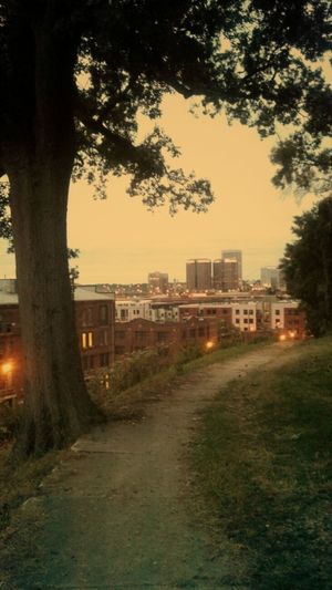 Pathway Outskirts Urbanography