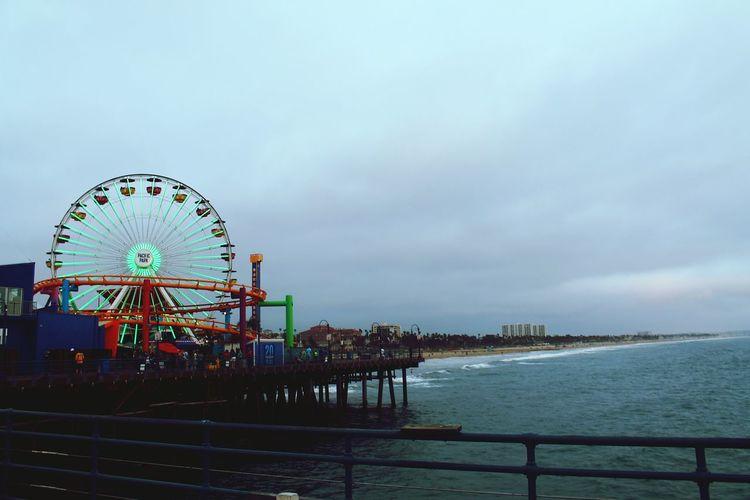 Amusement Park Ferris Wheel Rollercoaster Pier Beach Santa Monica Pacific Park Live For The Story Place Of Heart The Street Photographer - 2017 EyeEm Awards