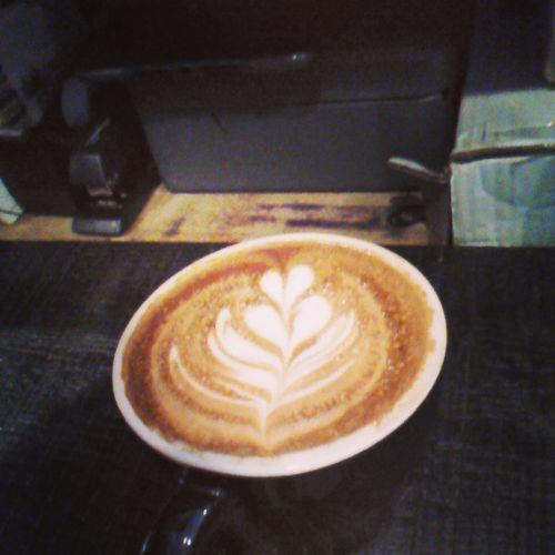 Rosetta Coffee Shop Cafelatte Latteart