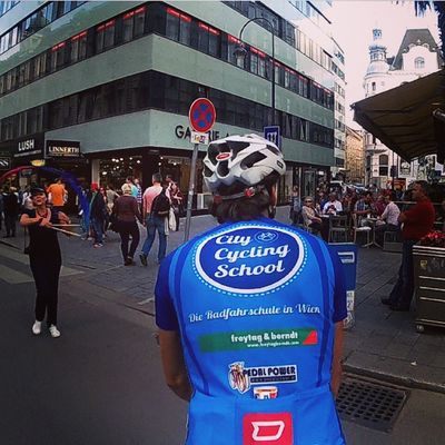 Let's city cycling! Cycling Wien Vienna Radfahren