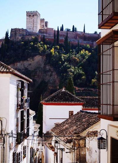 SPAIN Granada Albaicin Street