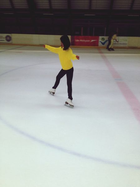 Grand aigle Patinages