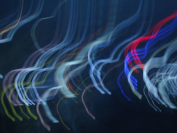 Black Background Close-up Day Illuminated Indoors  Light Trail Long Exposure Motion Multi Colored No People Speed Technology The Architect - 2018 EyeEm Awards