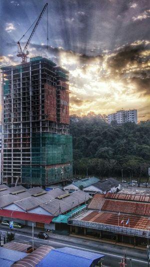 Checking Out Sabah Morning Sunrise Landscape Phone . HDR Better Together My Smartphone Life