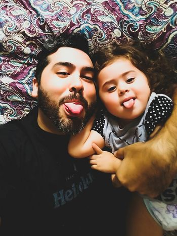 Parents Parents And Children Daughterlove Daddyslittlegirl Daddy Daughter Time Daddy Knows Best Selfie ✌ Multi Colored Let's Go. Together. EyeEmNewHere EyeEm Selects Close-up Indoors  Full Frame Adult