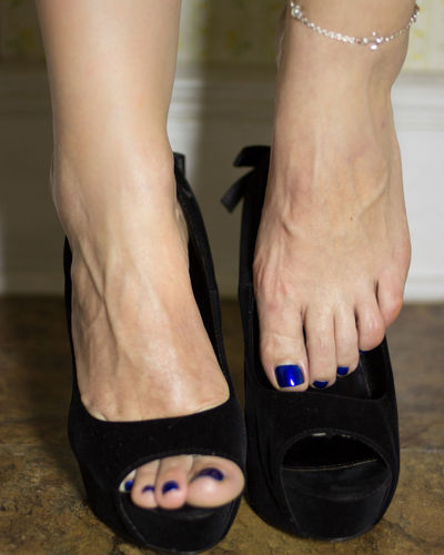 Sliding out of the heels and relaxing... Foot Heels Anklet barefoot Close-up Feet Human Body Part Human Foot Pedicure Shoe Standing Toes Women