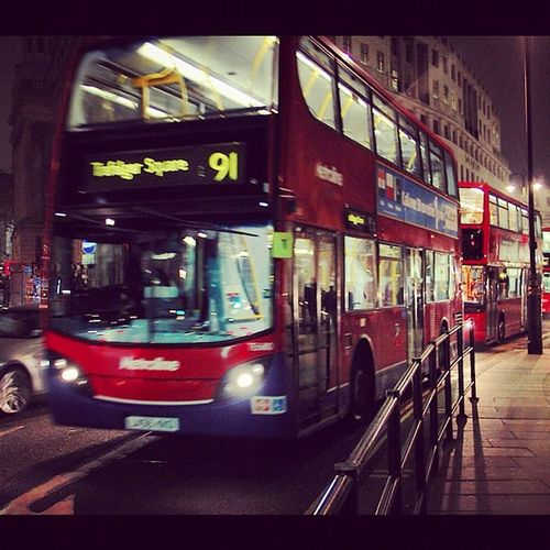 London Natioalportraitgallery Night Landscape photography photooftheday webstagram canon canoneos550d hobby holiday nightbus
