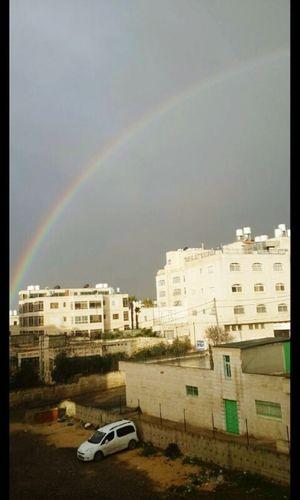 قوس_قزح تصويري♡ بعدستي فلسطين القدس