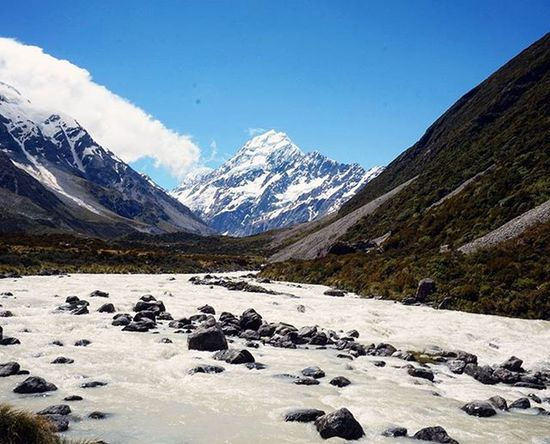 Aoraki / Mt.Cook Aoraki MtCook Southernalps Southisland Newzealand Highestmountain Majestic Hookervalley Wilderness NaturalBeauty Purenz Nzmustdo Justforthepics Secondaccount Travel Landscapes With WhiteWall