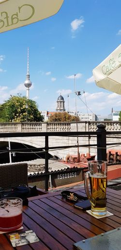 Alex Berlin Berliner Ansichten Berlin Street Photography Csefi1 An Der Spree City Summer Sky Travel Waterfront