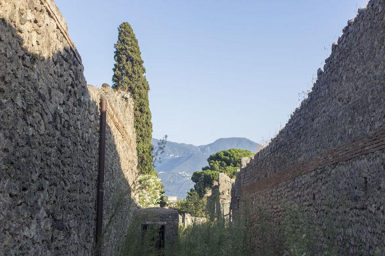 Castle against clear sky