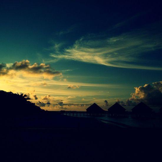 @sunset @maldives @beautiful