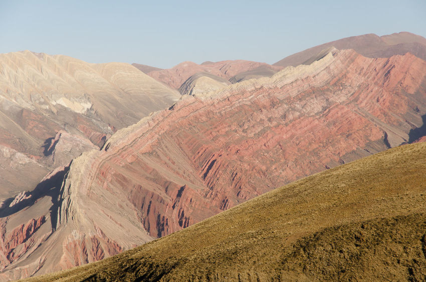 Serrania del Hornocal - Jujuy - Argentina Argentina Beauty In Nature Colorful Hornocal Jujuy Landscape Mountain Mountain Range Serrania De Hornocal