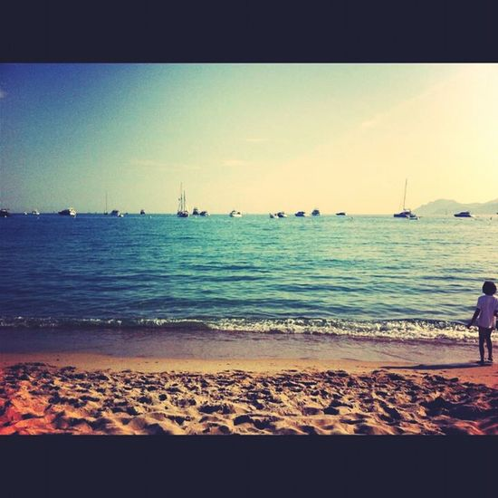 Last Days Of The Summer Beach Holiday