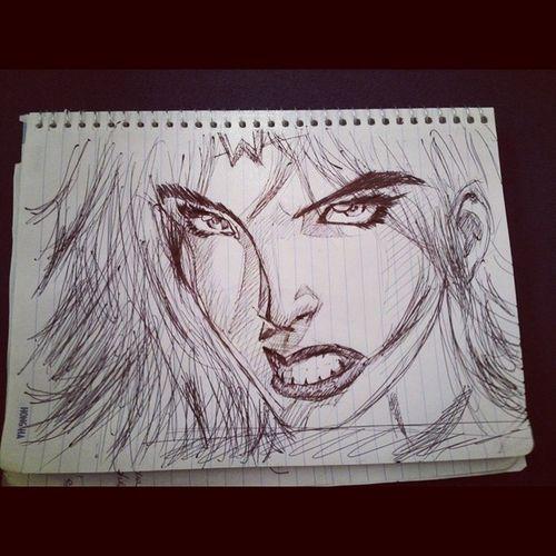 Wonder Woman Sketch Wonderwomen Sketch DChero DCcomic draw