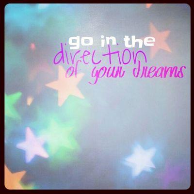 Rhonnadesigns Xnlights Winter2014 Ichgradso mirislangweilig Go in the direction of your dreams