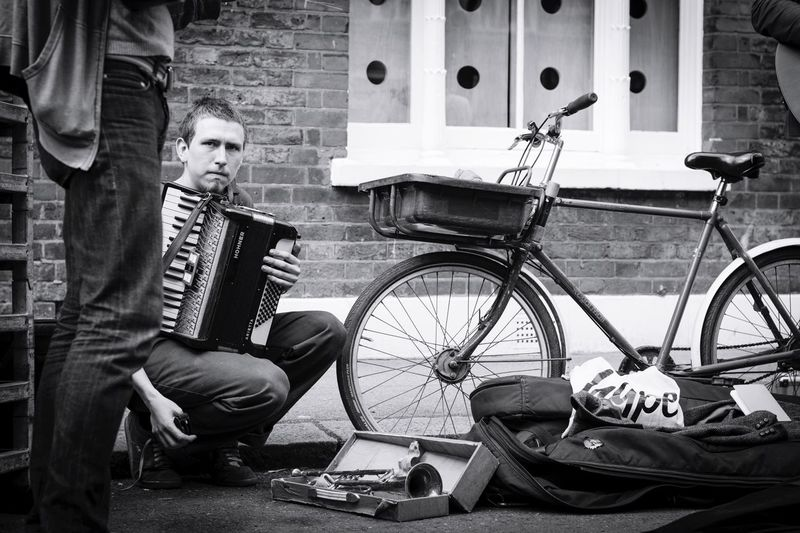 The Street Photographer - 2017 EyeEm Awards Bicycle Real People Streetphotography London