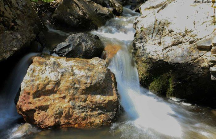 Waterfall Nature I Love My City My Country Mitrovic Kosovo Kosovska Mitrovica Stones