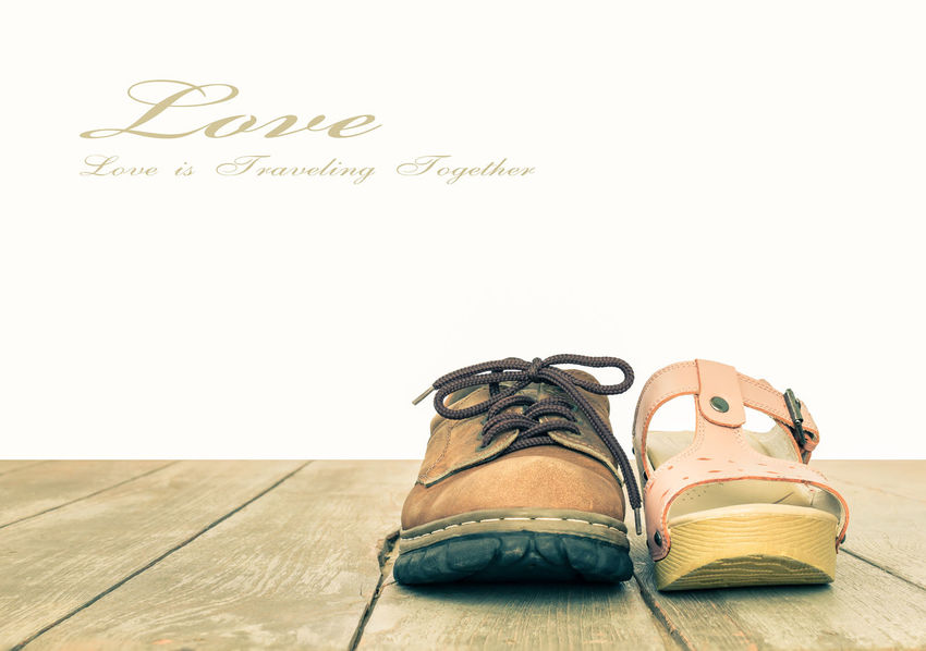 Love and Romance Concept Background Vintage Style Love Loving Relationship Romance Romance ❤✨✨ Romantic Valentine Valentine's Day  Background Backgrounds Hardwood Floor Love Concept Love ♥ Man Shoes Men Shoes Romantic Concept Romanticism Romantic❤ Shoe Still Life White Background Woman Shoes Women Shoe Women Shoes Wood