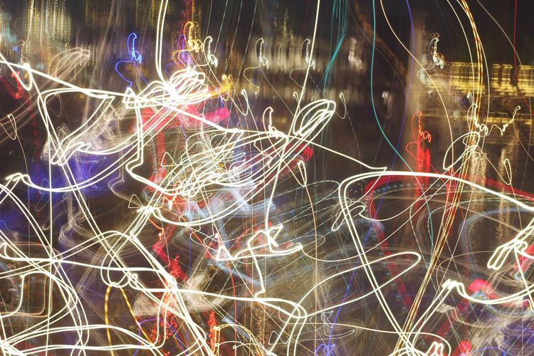 Abstract Night Backgrounds No People Full Frame Pattern Outdoors Close-up Illuminated Nature abstract photography