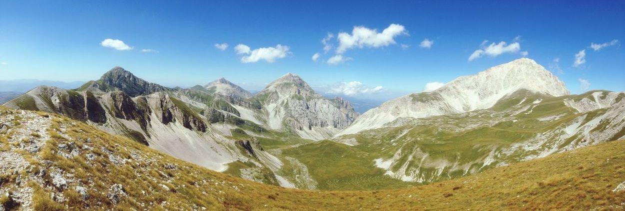 Abruzzo - Italy Gran Sasso Parco Gran Sasso Cielo Sky