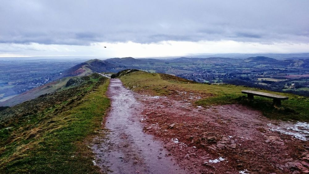 The view from the top of the Malvern hills this afternoon! Malvern Hills Hills Walking My View