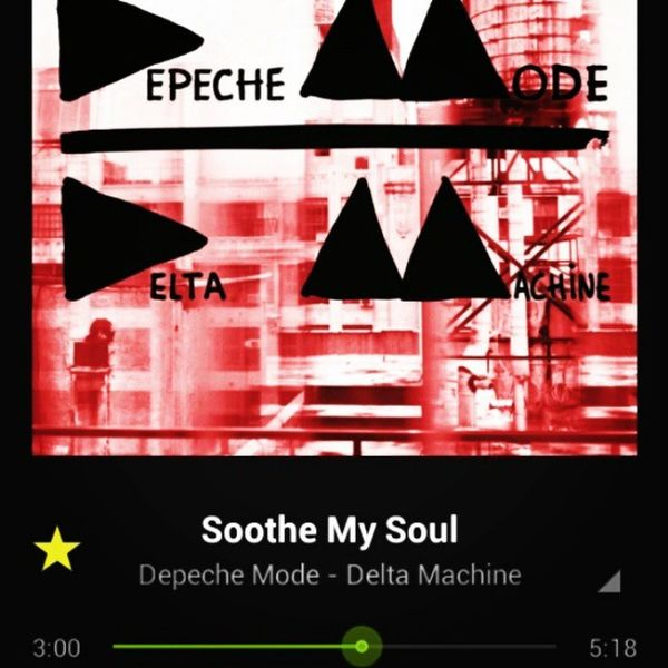Jamin  to Depechemode at Work to make the time pass faster. Love this new Cd Sounds so good with my KLIPSCH Earbuds Crankedup Loud