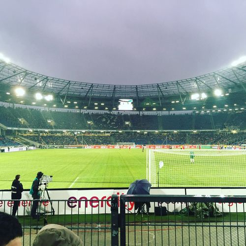 Hannover 96❤️ Stadium Sport Spectator Audience Competition Sports Team Real People Competitive Sport Grass Fan - Enthusiast Sky Outdoors Large Group Of People Illuminated Crowd Sports Track Day People Adult Adults Only Hannover96 Niedersachsenstadion