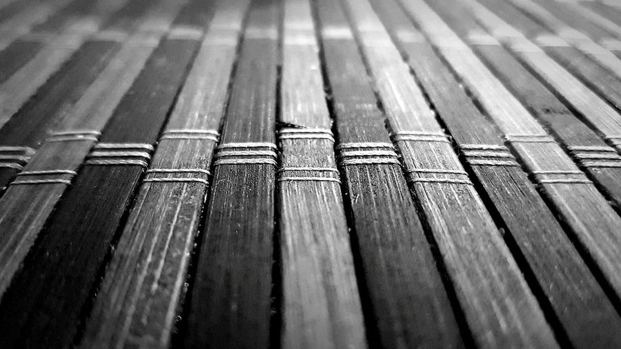 Thai table mat Black And White Black & White Blackandwhite Photography Place Mat Table Mat Blackandwhite Greyscale Grayscale EyeEm Best Shots Eyeforphotography Eye4photography  Backgrounds Full Frame In A Row Pattern Close-up Parallel LINE Repetition Textured