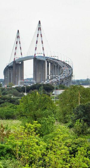 Car Bridge Over