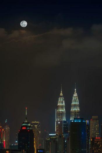 Moonrise moment