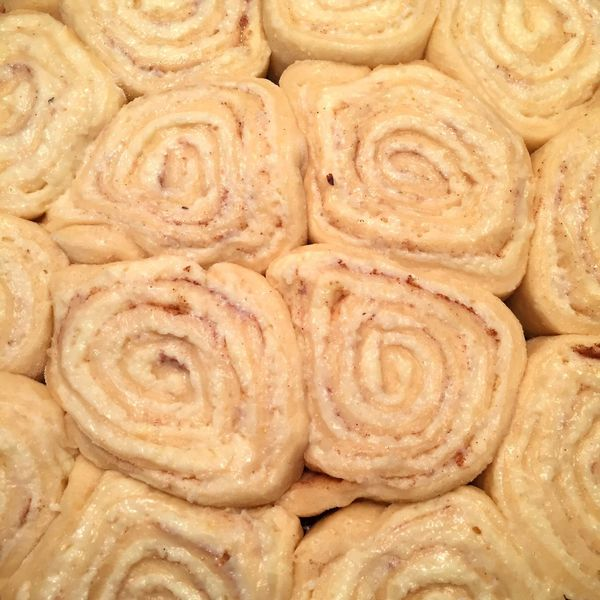 Rohe Zimtschnecken! Raw cinnamon rolls! 😍 Food And Drink Full Frame Sweet Food Close-up Food Cinnamonrolls Zimtschnecken Bakery Raw Pastries Pastries Raw Dough Raw Pastry Roher Teig Rohe Zimtschnecke