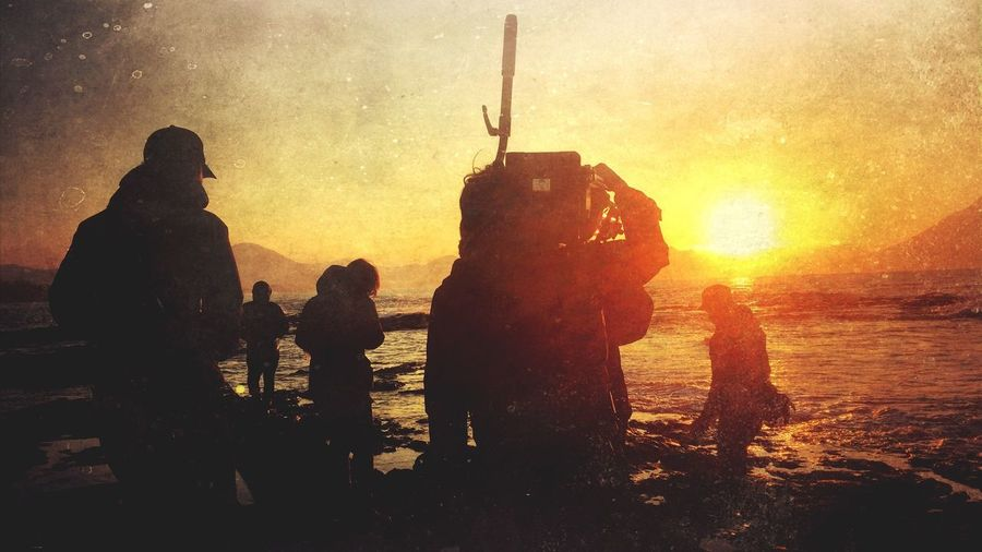 Japan Filming Landscape Shooting Sun Set