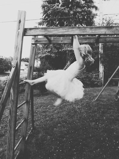 A Princess having fun!