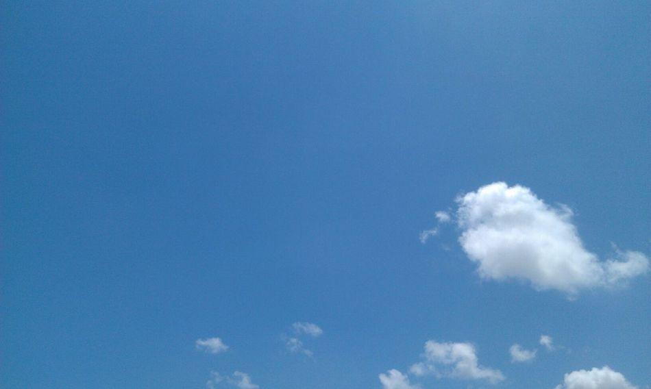 臺灣 Kaohsiung 鳳山 Taiwan 天空 Sky Hot Blue