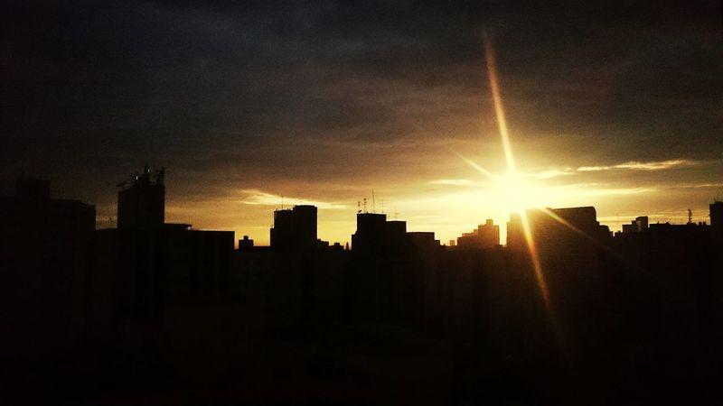 Sunrise Saopaulo Downtown Enjoying Life
