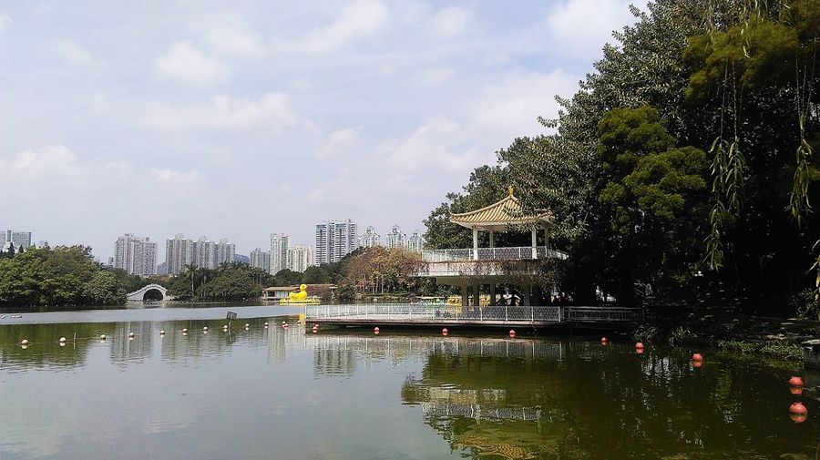 City Park View Landscape Cityscapes Enjoying Life Relaxing Taking Photos City View  Citylife Thepark