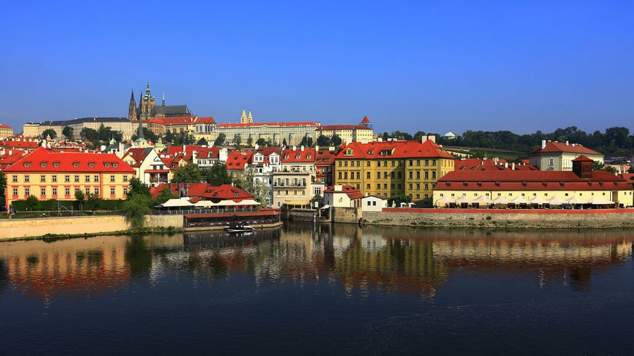 Love in PRAGUE Water City Lake Reflection Sky Building Exterior Architecture