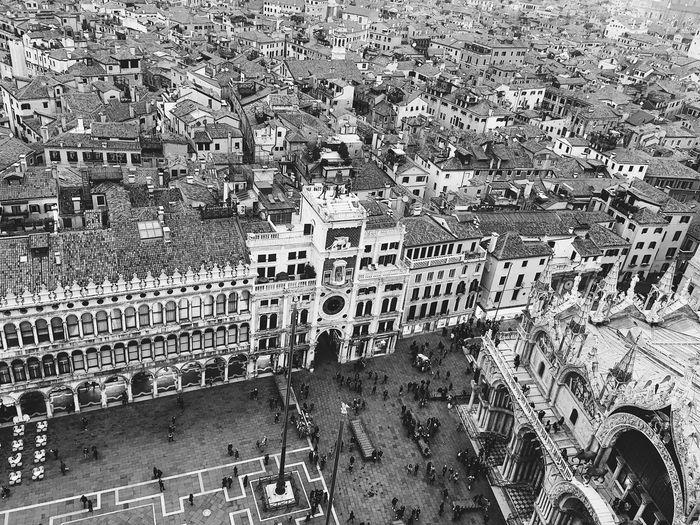 Bird's view Venice