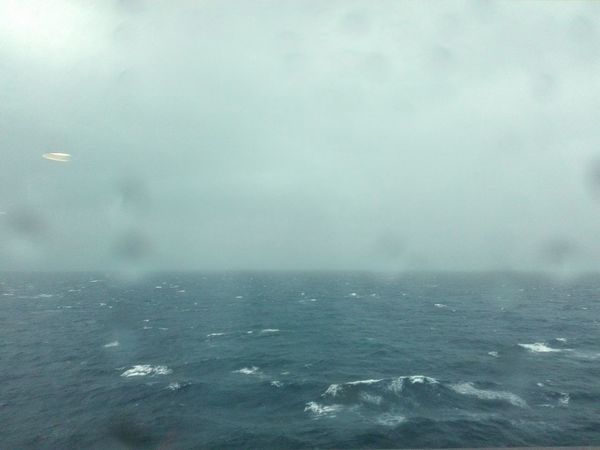Storm Looking Through A Glass Dropsonmywindow Seaview Waves Nature No People Blue Sea Abstract Landscape Travel Photography Eyeem Photo Mobilephotography
