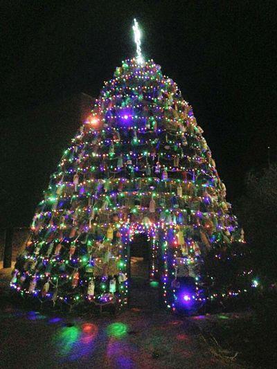 Lobstatrap Christmas Tree Fishing Town Christmass Tree Save A Tree Use Lobsta Traps Glosta Ma. Creative Festive