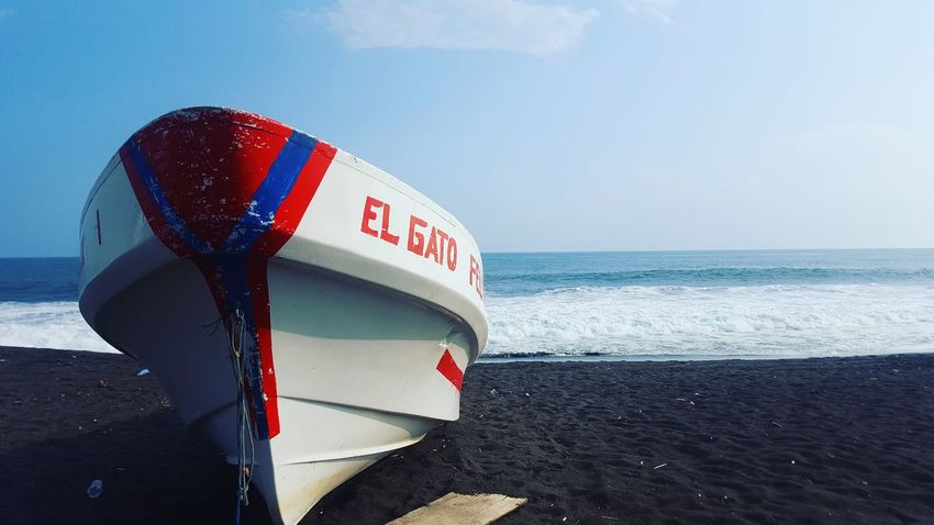 Exploring Guatemala Life Beach Beauty In Nature Day Horizon Over Water Lifestyles Location No People Outdoors Sand Sea Sky Water The Week On EyeEm
